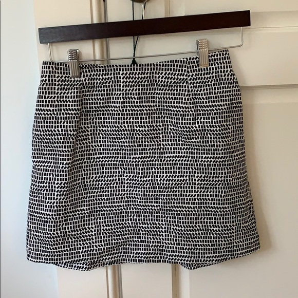 kate spade Dresses & Skirts - Mini Skirt black and white